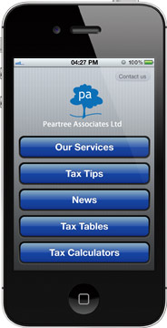 Peartree Associates Ltd TaxApp